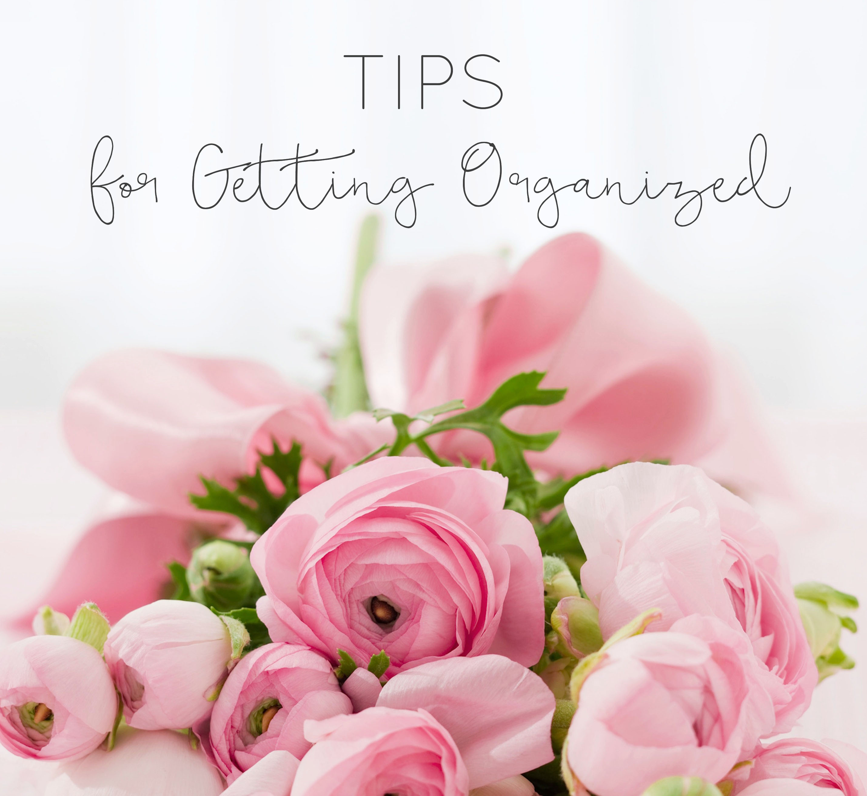 tips for getting organized desk to do list goal organised organization sail and swan