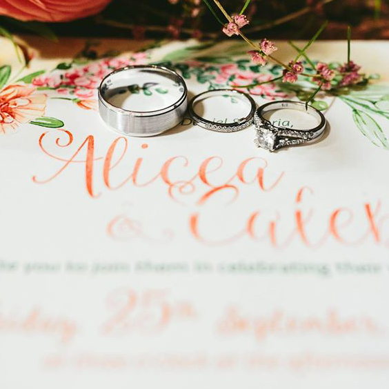 Outdoor Vintage Bohemian Wedding