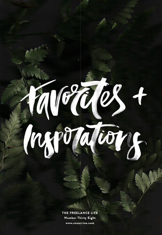 hand lettering white brush script ferns quote typography sail and swan