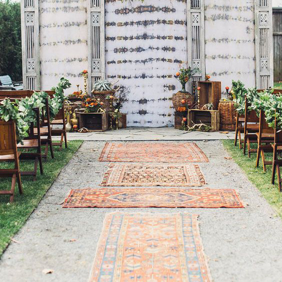 Weddings with Rugs