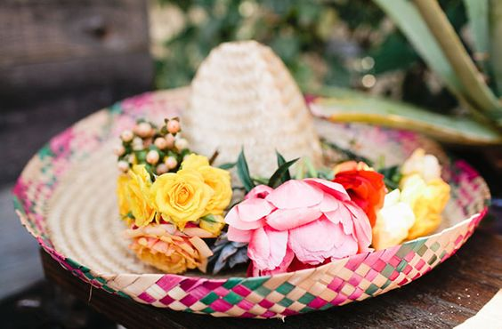 mexican wedding fiesta ideas inspiration mexican themed wedding bright colourful styling decorations reception sail and swan blog