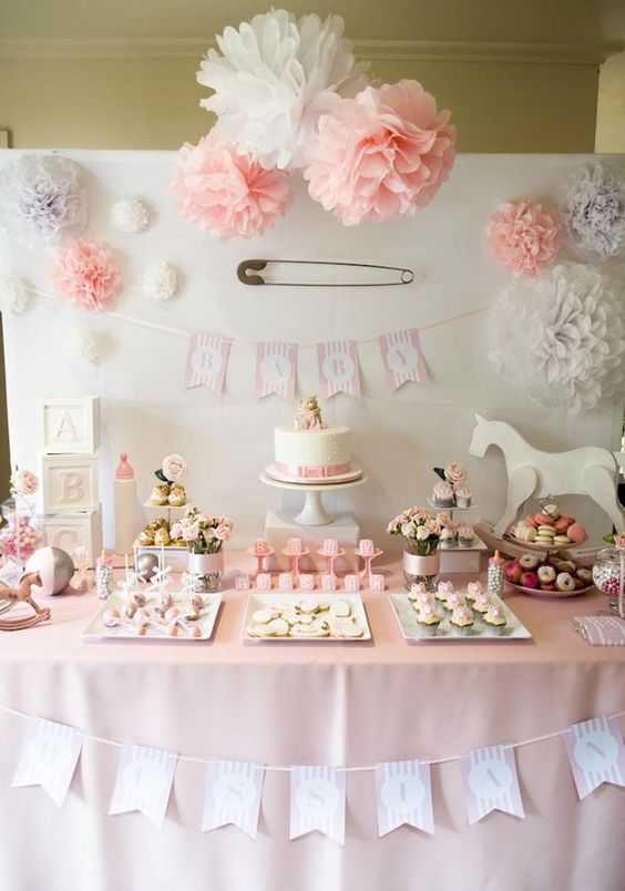 Baby Shower Ideas For Girls Sail And Swan Studio