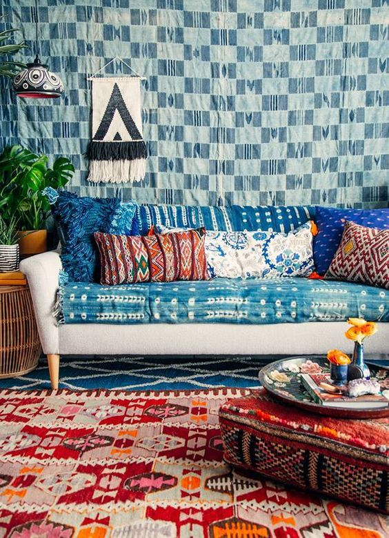 Boho Home Decor bohemian homewares furniture ideas inspiration styling blog sail and swan