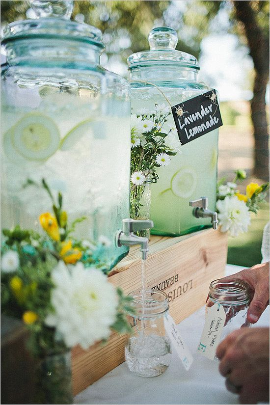 Wedding Lemonade Stand Ideas - Sail and Swan Studio