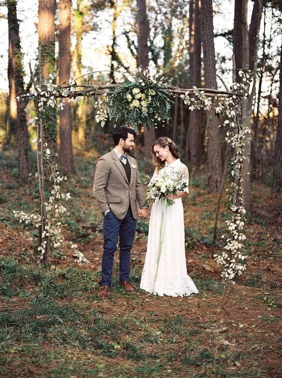 Boho wedding ideas bohemian wedding inspiration blog outdoor natural earthy ceremony flowers floral styling sail and swan
