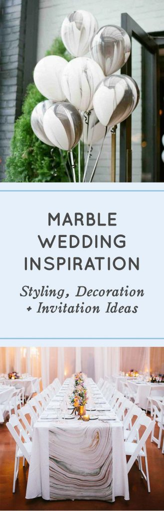 Marble Wedding Inspiration - Marble Wedding Invitations Marble Wedding Ideas