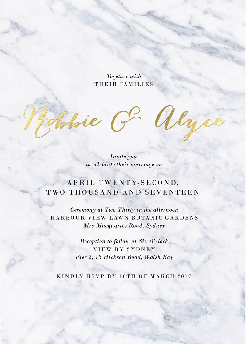 Marble Wedding Inspiration Marble Wedding Invitations Amp More