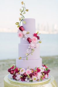 lilac wedding cake purple wedding inspiration purple wedding inspiration