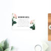 Modern Vintage Wedding Invitations Rose Pink peach Wedding Stationery australia perth sydney melbourne brisbane adelaide sail and swan