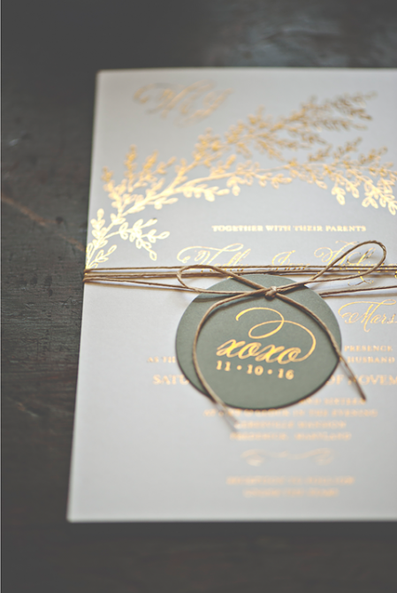 What Is Foil Stamping Printing Wedding Invitations Australia Gold Sydney Perth Melbourne