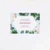 Floral Rose Mint Green Pastel Save the Dates Floral Rose Mint Green Pastel Wedding Invitations