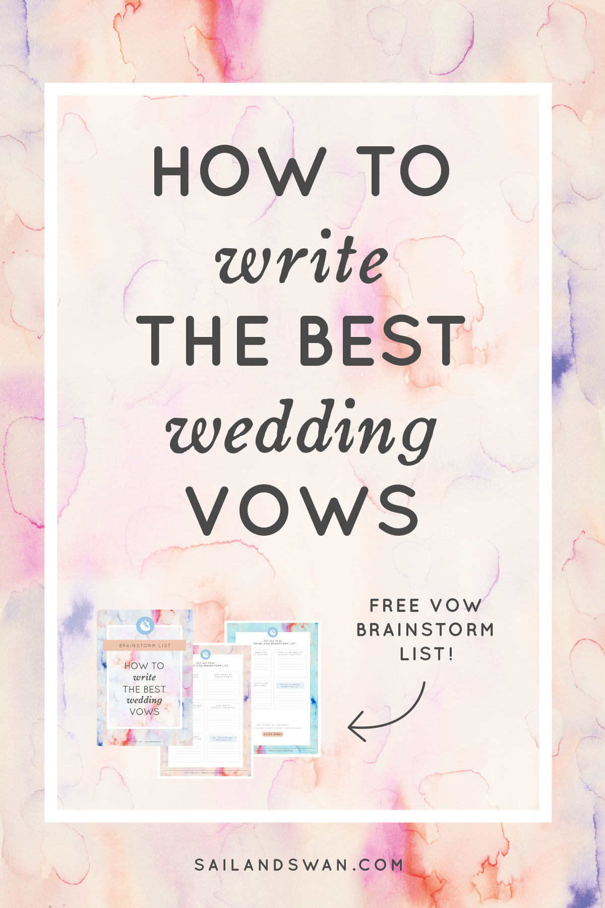 To Write The Best Wedding Vows Vow Examples And Ideas How