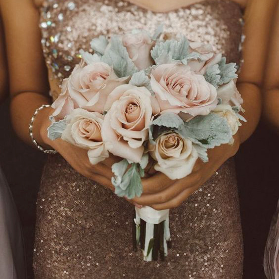 How To Style A Rose Gold Wedding