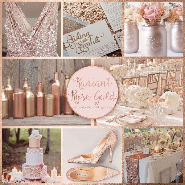 Rose Wedding Ideas: How To Style A Rose Gold Wedding