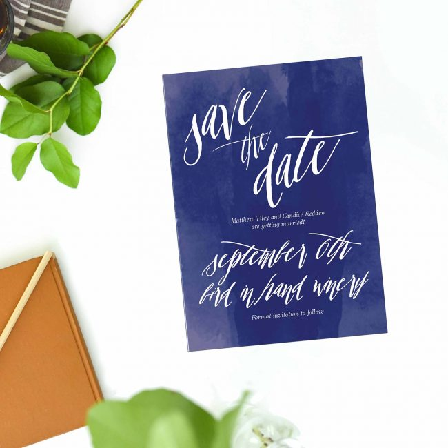 Navy Blue Watercolour Save the Dates Australia Sydney Perth Melbourne Canberra Adelaide brisbane Navy Ink nautical beach save the Dates New York United States Uk London Sail and Swan