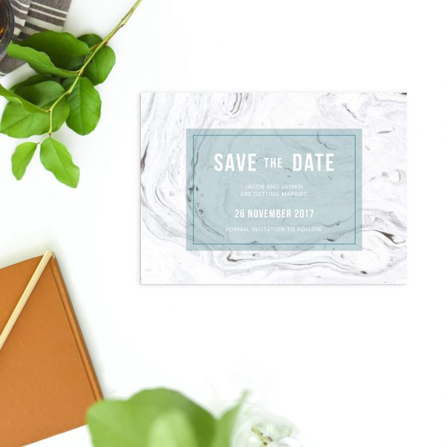 Turquoise and Grey Marble Save the Dates Australia Perth Sydney Melbourne adelaide canberra brisbane ocean beach nautical elegant save the dates new york united states london uk