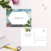 Amalfi Coast Island Wedding Thank You Postcards