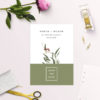 Modern Eucalyptus Wattle Native Save the Dates