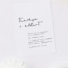 Feature Names Modern Minimal Sophisticated Wedding Invitations
