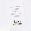 Modern Minimal Eucalyptus Botanical Engagement Invitations
