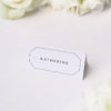 Timeless Decorative Border Elegant Classic Name Place Cards Timeless Decorative Border Elegant Classic Classy Wedding Invitations