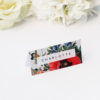 tunning Floral Bouquet Name Place Cards Stunning Floral Bouquet Wedding Invitations