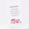 Modern Pink Floral Rose Gold Foil Marble Engagement Invitations