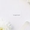 Modern Minimal Contemporary Simple Name Place Cards Modern Minimal Contemporary Simple Wedding Invitations