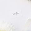 Modern Edgy Fonts Clean Minimal Name Place Cards Modern Edgy Fonts Clean Minimal Wedding Invitations