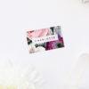 Elegant Rose Bouquet Floral Name Place Cards Elegant Rose Bouquet Floral Wedding Invitations