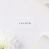 Sophisticated Elegant Name Place Cards Sophisticated Elegant Names Wedding Invitations