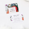Stunning Floral Bouquet Wedding Invitations