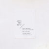 Modern Line Layout Clean Minimal Save the Dates Modern Line Layout Clean Minimal Wedding Invitations