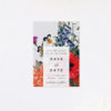Stunning Floral Bouquet Save the Dates Stunning Floral Bouquet Wedding Invitations