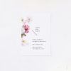 White Pink Daisies Save the Dates White Pink Daisies Wedding Invitations