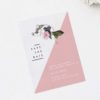Contemporary Blush Pink Botanical Save the Dates Contemporary Blush Pink Botanical Wedding Invitations