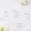 Modern Edgy Fonts Clean Minimal Wedding Invitations