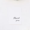 Clean Simple Minimal Cursive Script Wedding Thank You Cards Clean Simple Minimal Cursive Script Wedding Invitations