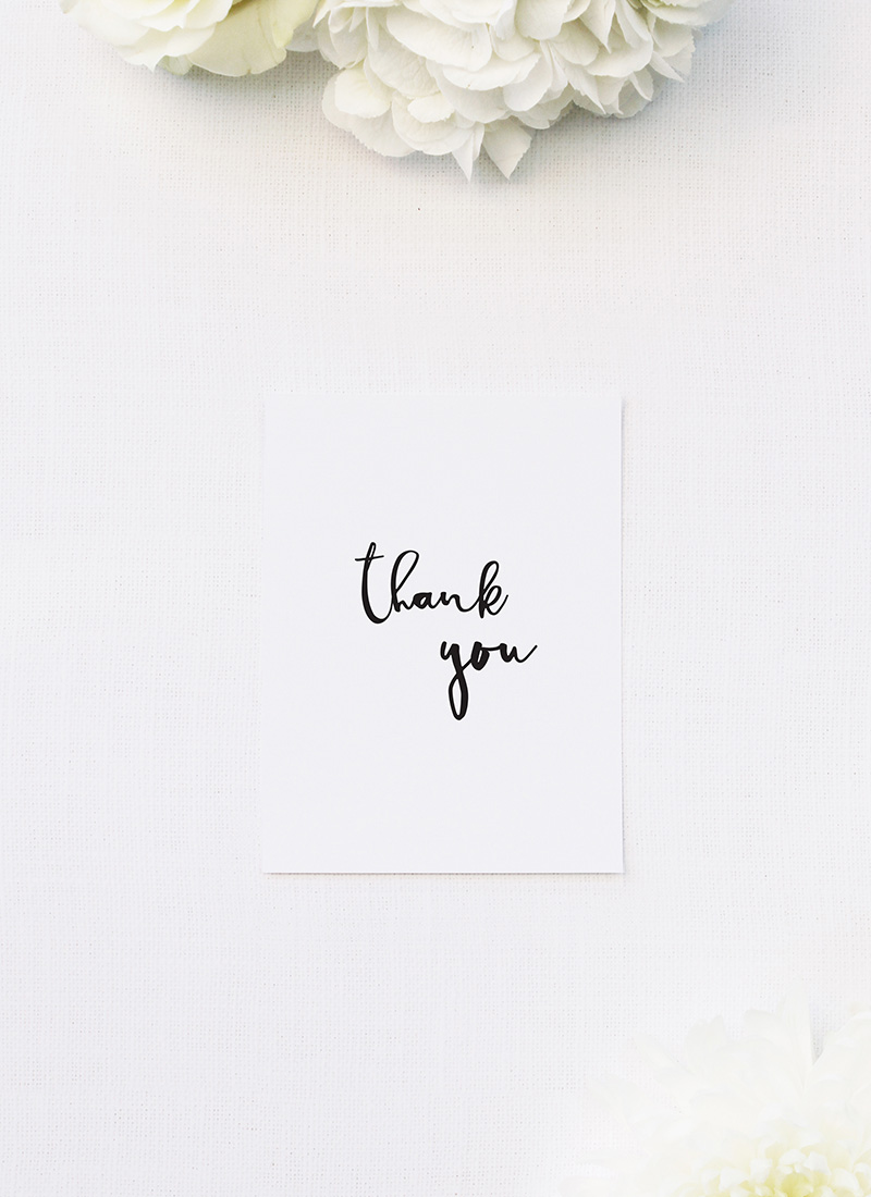 Loose Free Cursive Writing Modern Minimal Wedding Thank You Cards Loose Free Cursive Writing Modern Minimal Wedding Invitations