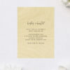 Clean Minimal Modern Contemporary Wooden Wedding Invitations