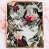 Faded Native Wall Art - Native Floral Art Print with Native Leaves, Greenery and Florals